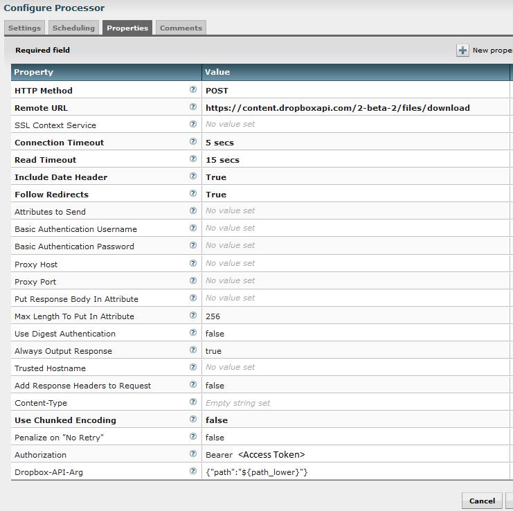 Get data from/to Dropbox using Apache NiFi – Pierre Villard